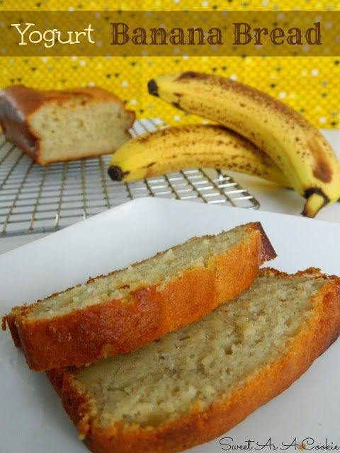 Healthy Banana Bread With Yogurt  Yogurt Banana Bread