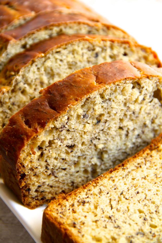 Healthy Banana Bread With Yogurt  Greek Yogurt Banana Bread