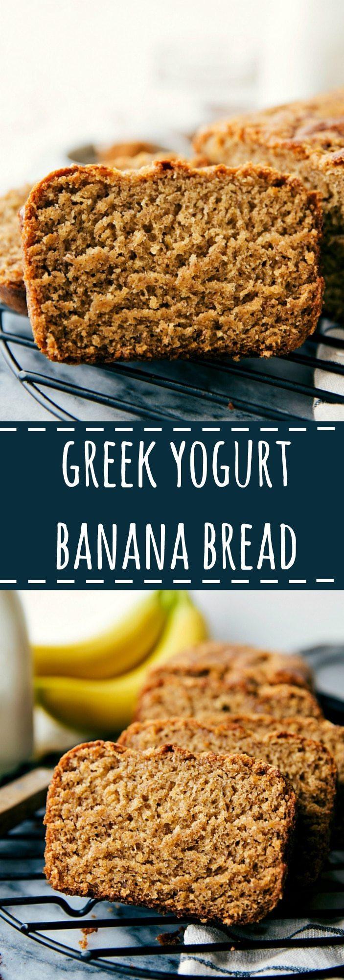 Healthy Banana Bread With Yogurt  Healthier Greek Yogurt Banana Bread Video Chelsea s