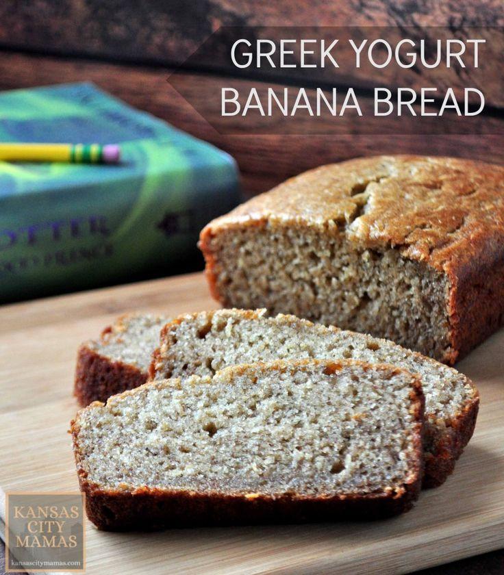 Healthy Banana Bread With Yogurt  Healthy Recipes Greek Yogurt Banana Bread Recipe