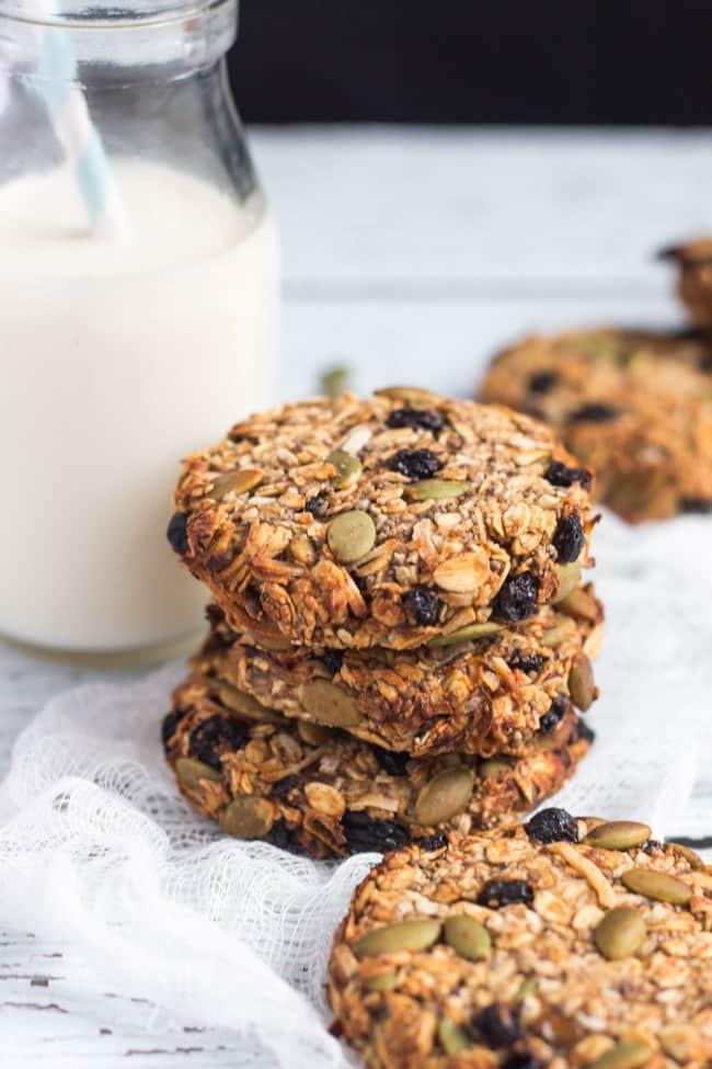 Healthy Banana Breakfast Cookies  Super Healthy Grab and Go Banana Breakfast Cookies