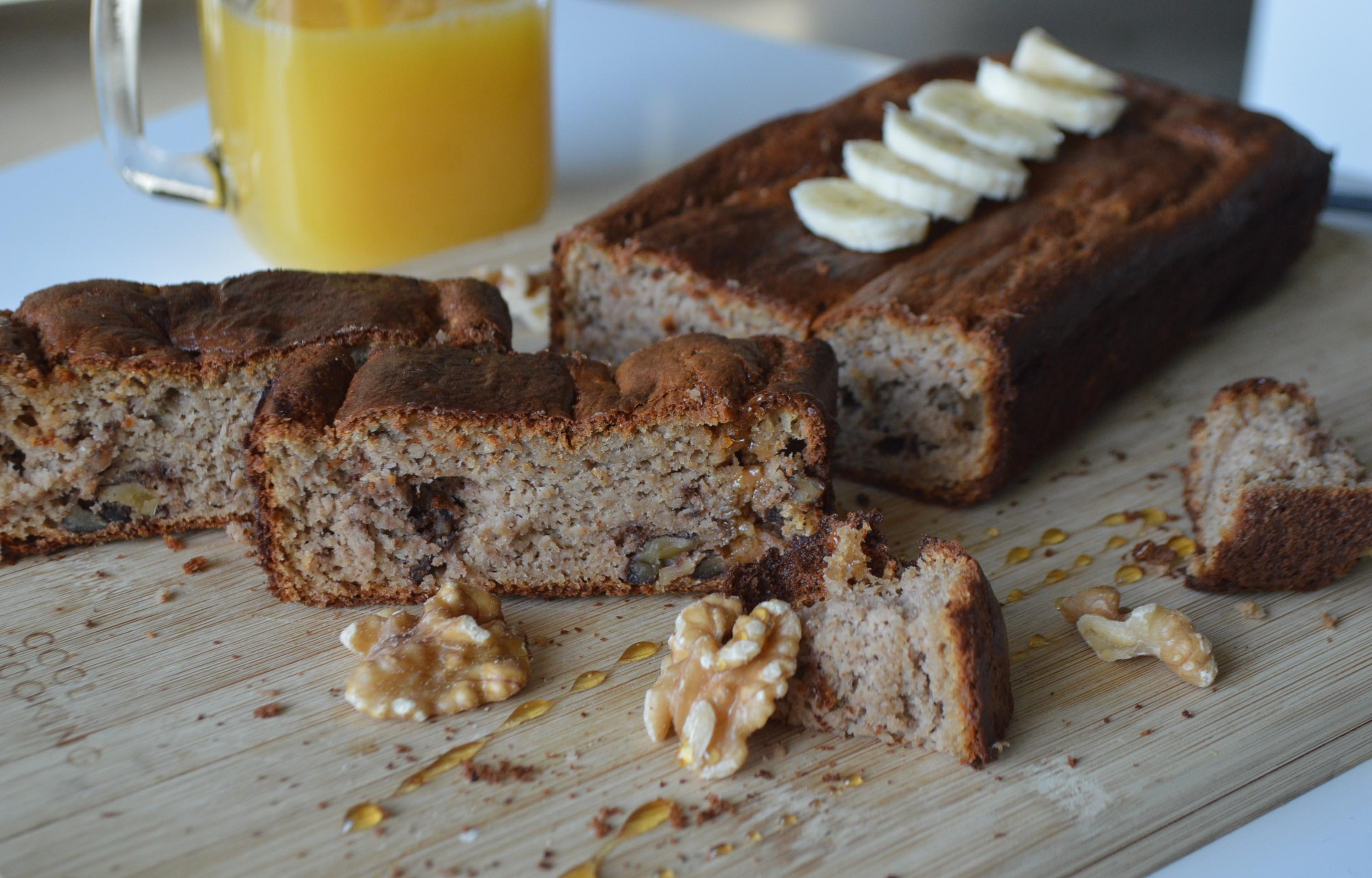 Healthy Banana Cake  Some healthy banana cake goodness