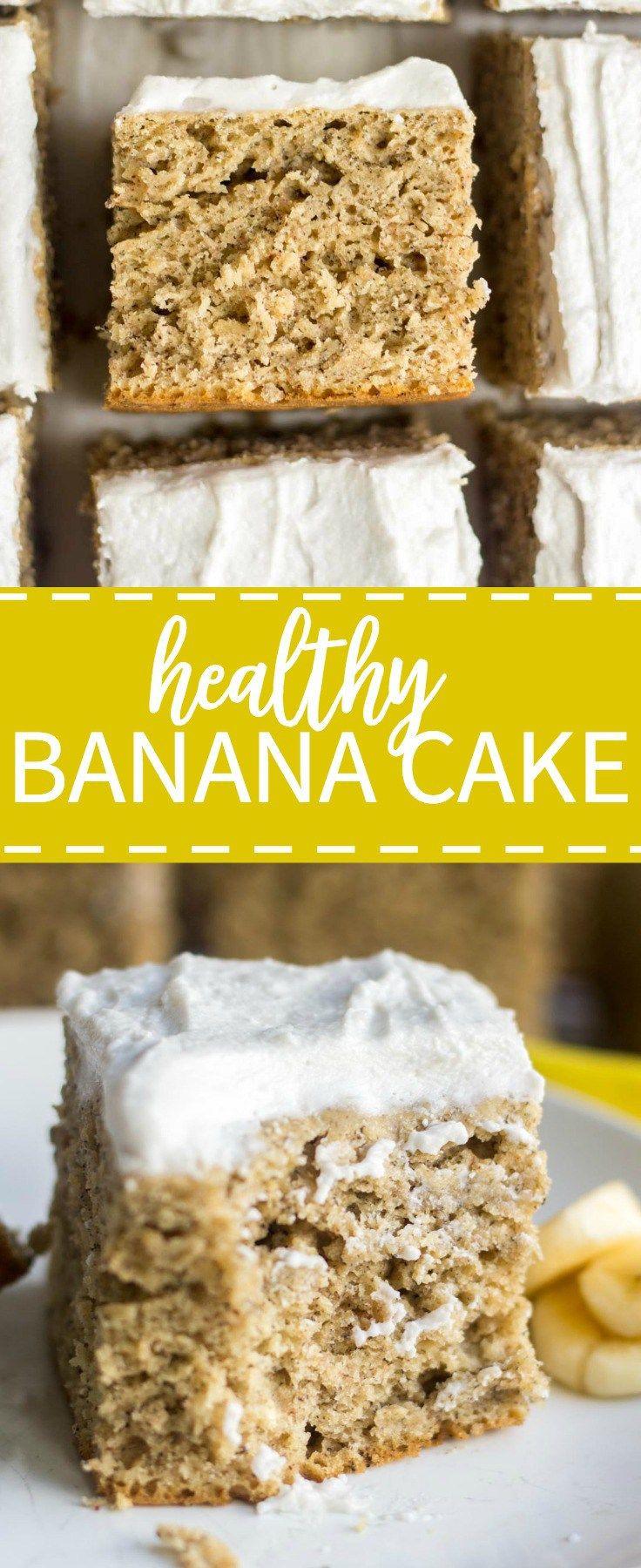 Healthy Banana Cake  25 bästa Coconut Whipped Cream idéerna på Pinterest