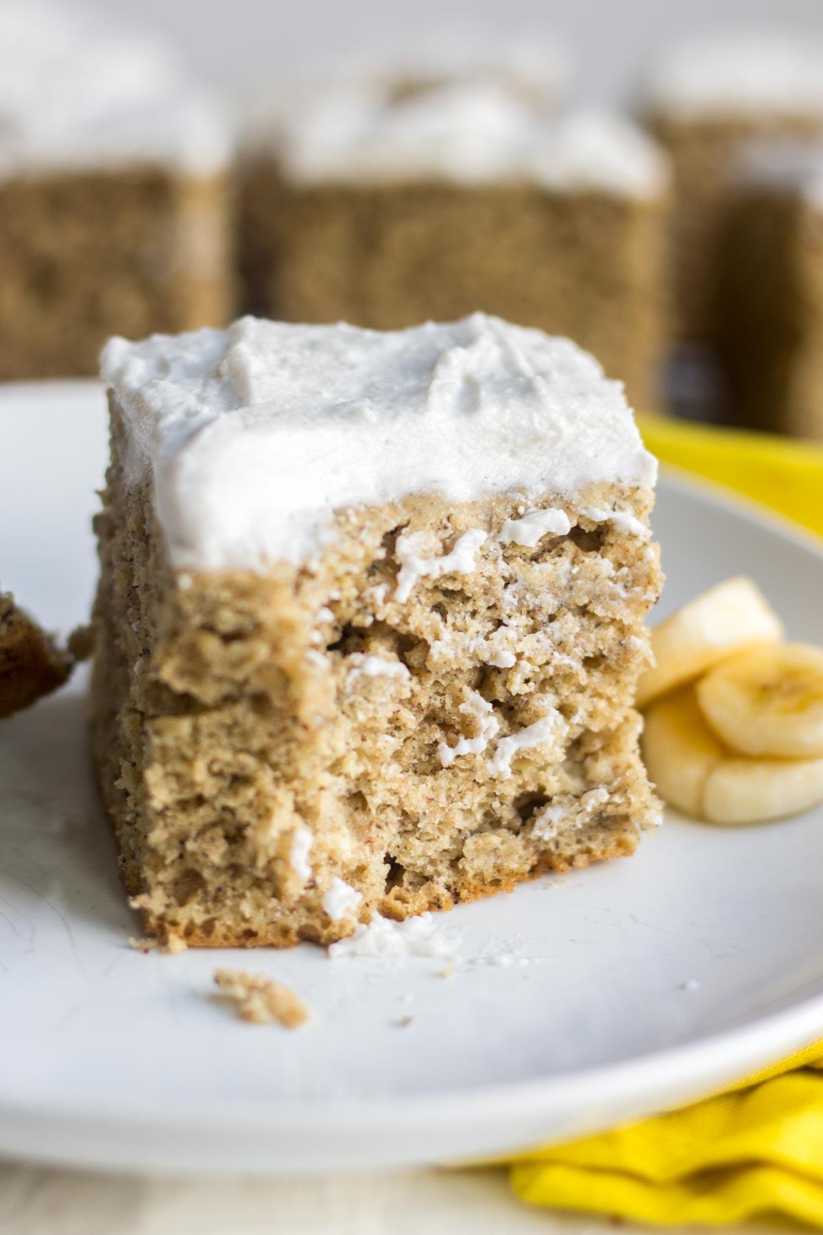 Healthy Banana Cake  Healthy Banana Cake