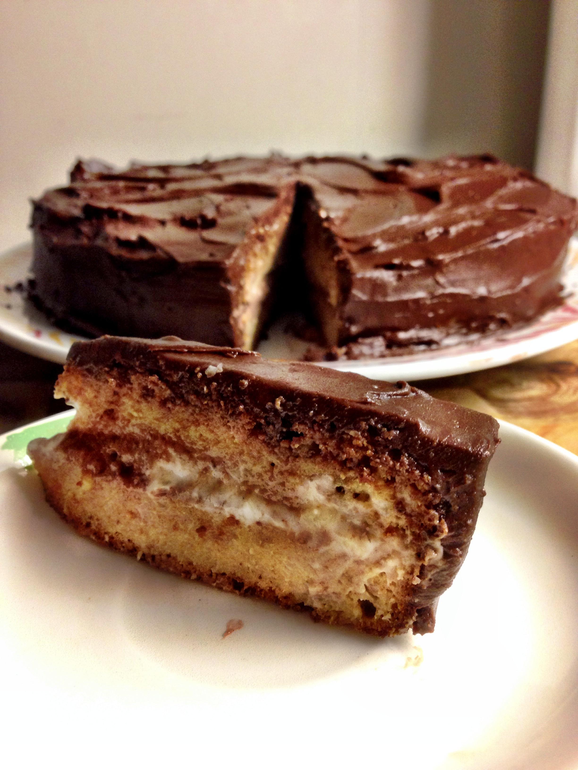 Healthy Banana Cake  Healthy Banana Pudding Cake Recipe Healthy Dark Chocolate