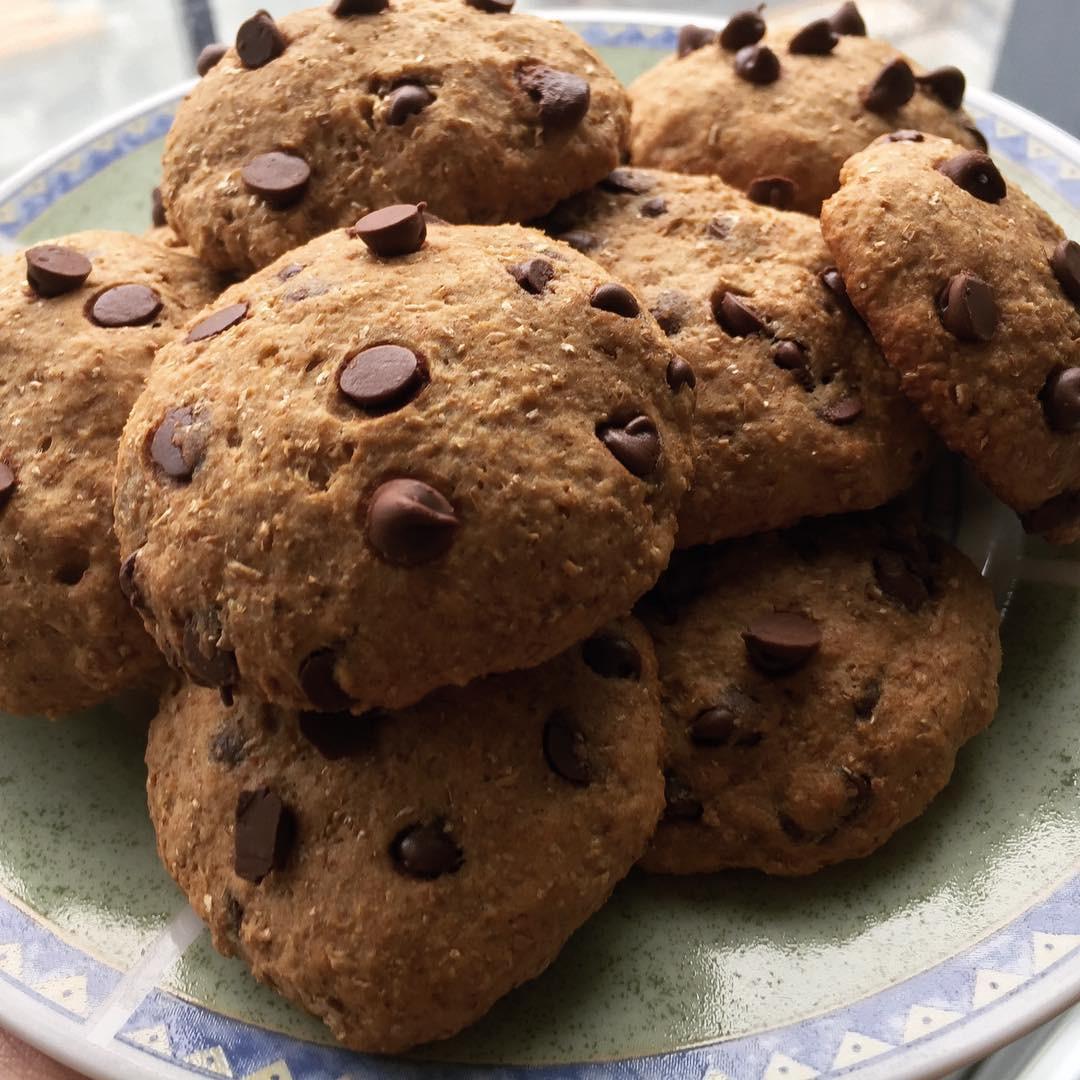 Healthy Banana Chocolate Chip Cookies  Sunday Spotlight 65