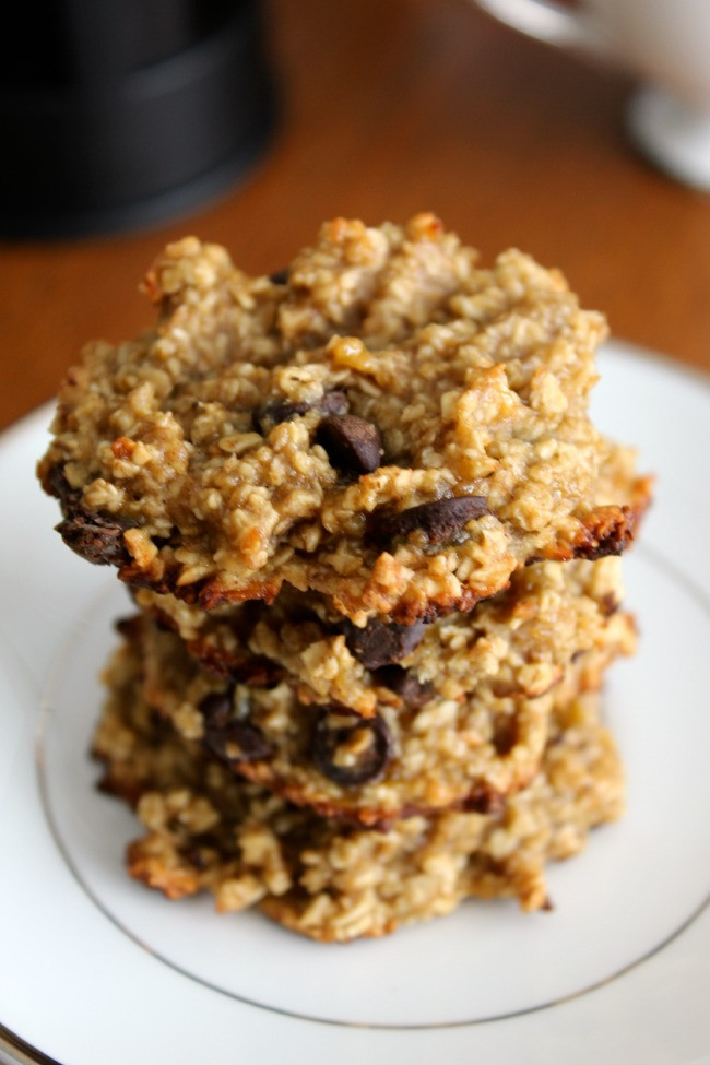 Healthy Banana Chocolate Chip Cookies  Healthy Oat Banana Chocolate Chip Cookies The Best of