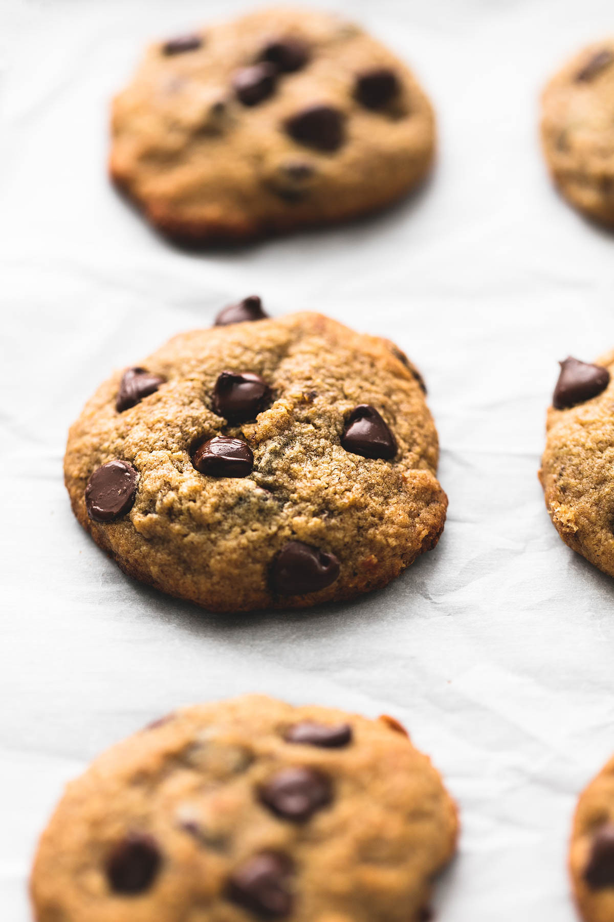 Healthy Banana Chocolate Chip Cookies  BEST Ever Healthy Banana Chocolate Chip Cookies Creme De