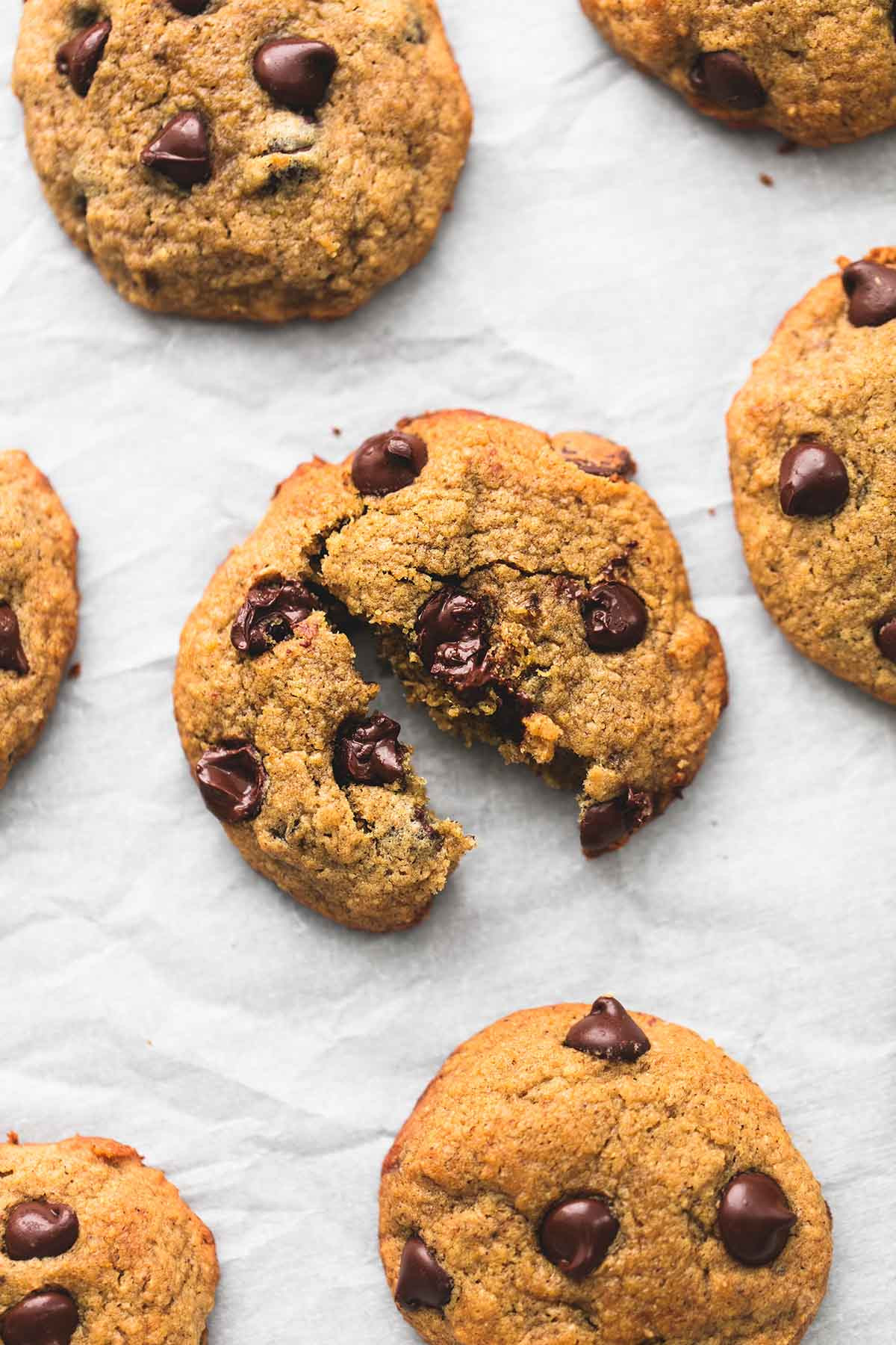 Healthy Banana Chocolate Chip Cookies  BEST Ever Healthy Banana Chocolate Chip Cookies