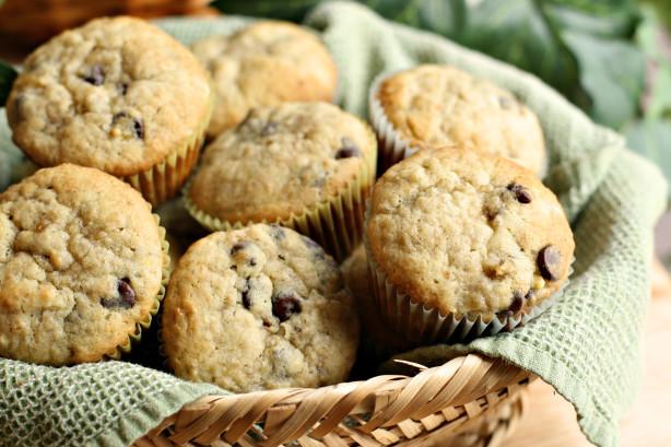 Healthy Banana Chocolate Chip Muffins  Healthy Banana Chocolate Chip Muffins Recipe Food