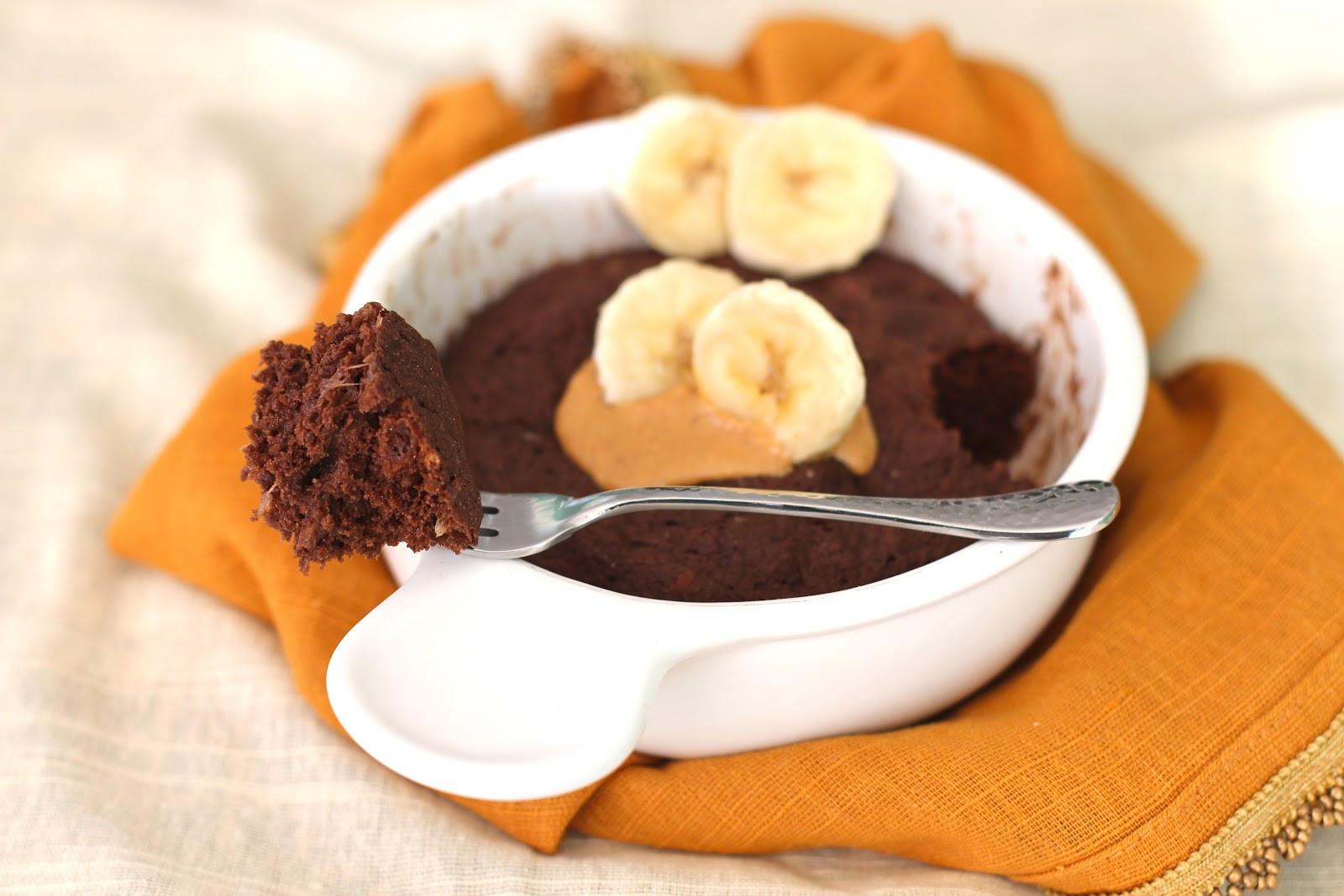 Healthy Banana Dessert  Healthy Single Serving Chocolate Peanut Butter Banana