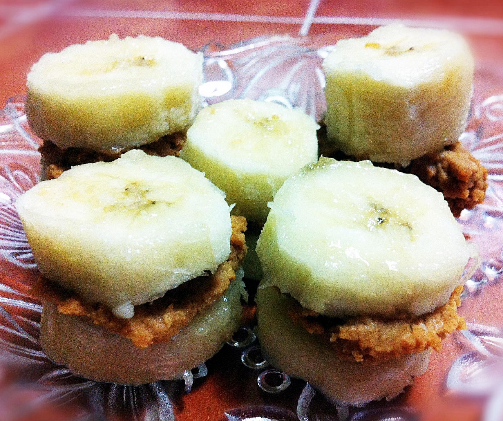 Healthy Banana Desserts Easy  Healthy Dessert Ideas Banana and Peanut Butter Bites