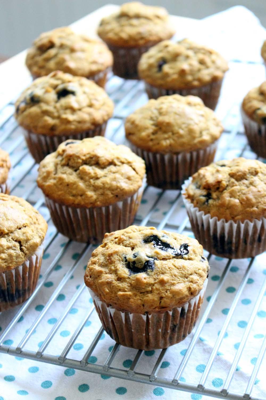 Healthy Banana Muffin Recipes  healthy banana oat muffins recipes