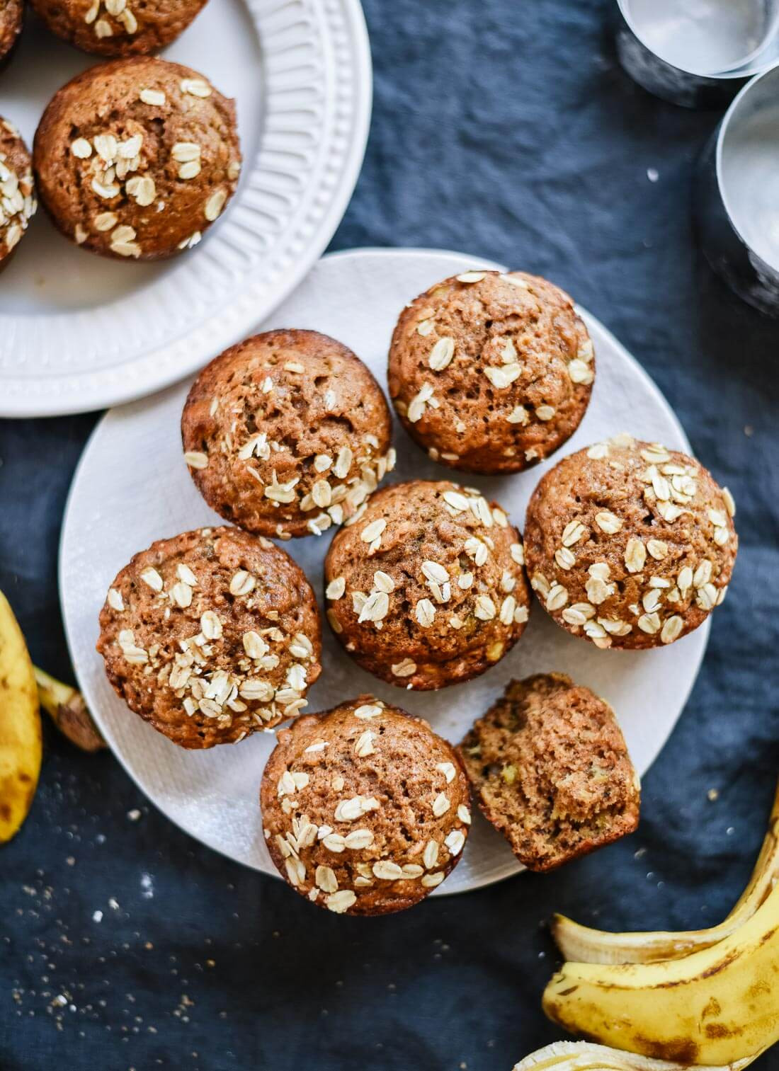 Healthy Banana Muffin Recipes  Healthy Banana Muffins Recipe Cookie and Kate