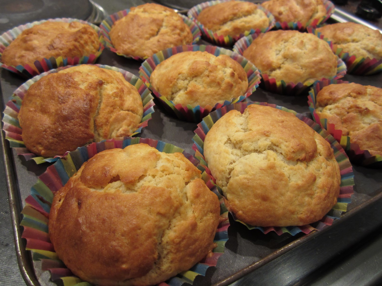 Healthy Banana Muffin Recipes  Healthy Banana Muffins Crafty Weekend Craft projects