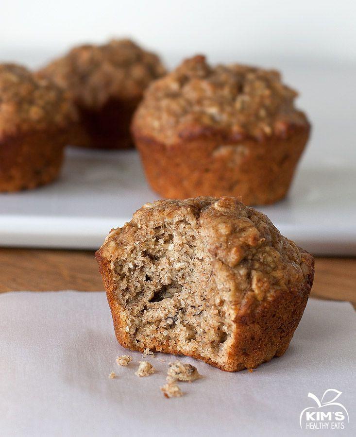 Healthy Banana Muffin Recipes  Healthy Banana Muffins on Pinterest