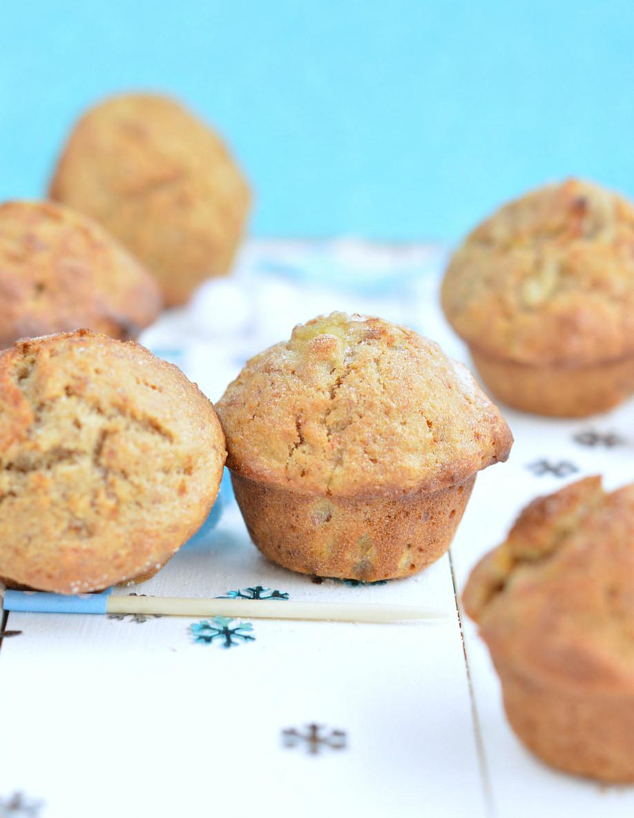 Healthy Banana Muffin Recipes  Whole wheat banana muffins healthy Recipe Sweetashoney