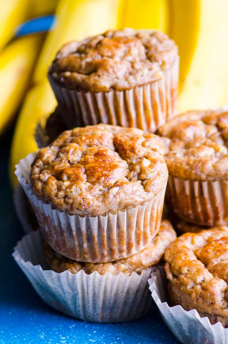 Healthy Banana Muffins With Applesauce  Healthy Banana Muffins Recipe with 5 Star Reviews
