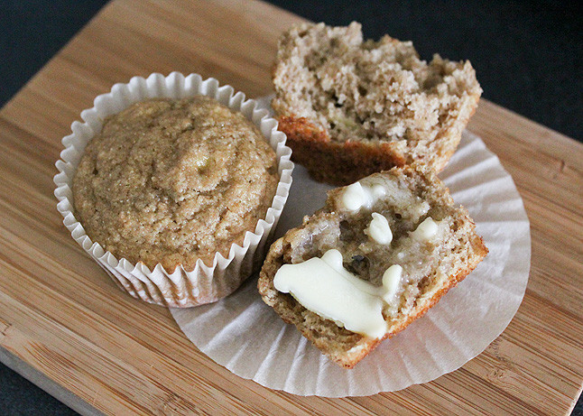 Healthy Banana Muffins With Applesauce  Homemade Muffin Recipes Just Got A Whole Lot Healthier