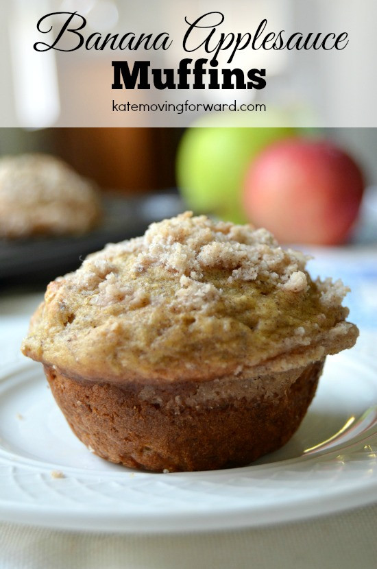 Healthy Banana Muffins With Applesauce  Banana Applesauce Muffins