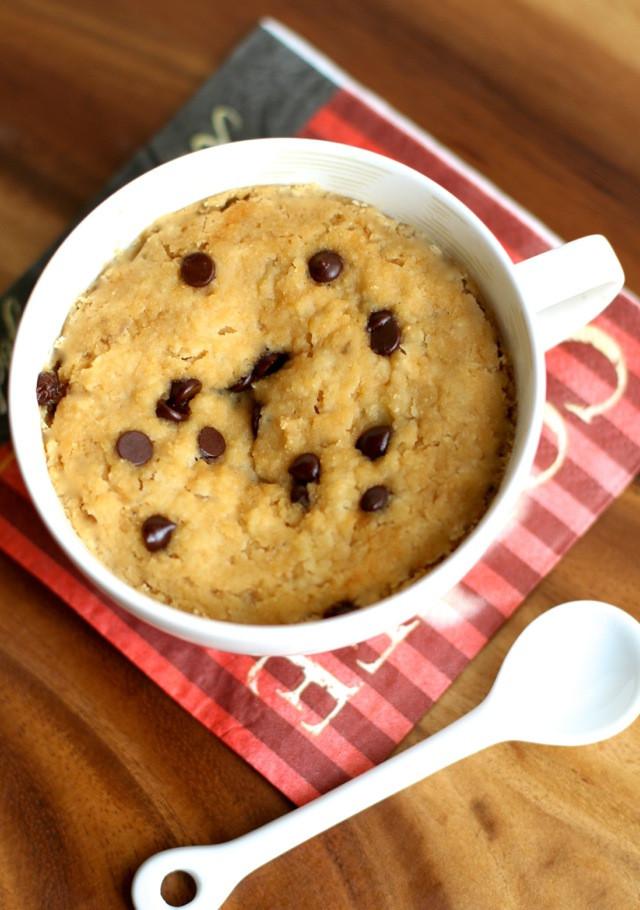 Healthy Banana Mug Cake  Banana Bread Mug Cake