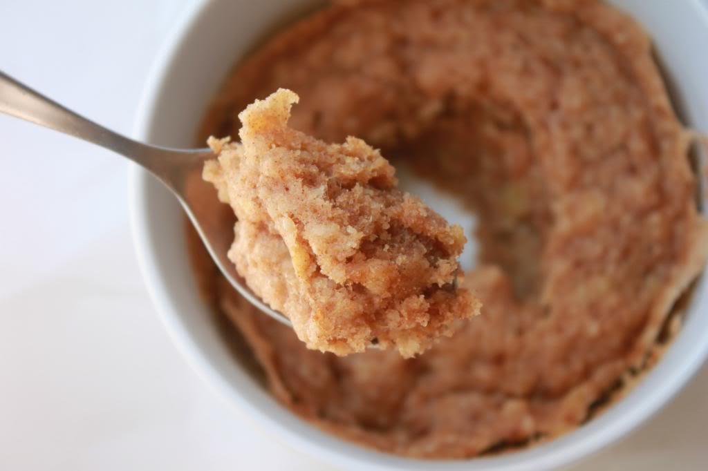 Healthy Banana Mug Cake  Delighted Momma The Two Minute Cinnamon Banana Mug Cake