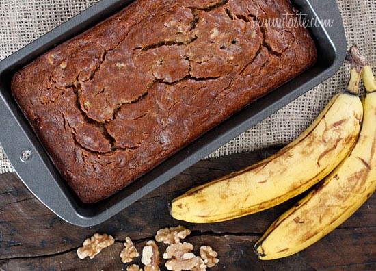 Healthy Banana Nut Bread  Healthy Banana Nut Bread