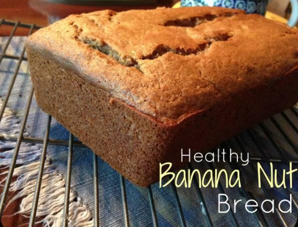 Healthy Banana Nut Bread Recipe  Healthy Recipe Banana Nut Bread