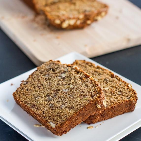 Healthy Banana Nut Bread Recipe  Healthy Whole Wheat Banana Nut Bread Jo Cooks