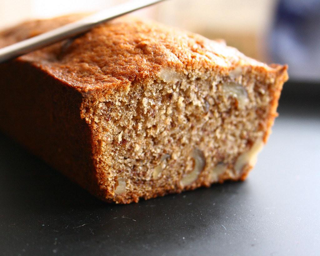 Healthy Banana Nut Bread Recipe  Omega 3 Banana Nut Bread