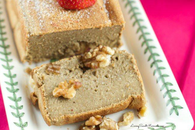 Healthy Banana Oat Bread  Healthy Banana Oatmeal Bread No flour no sugar Living