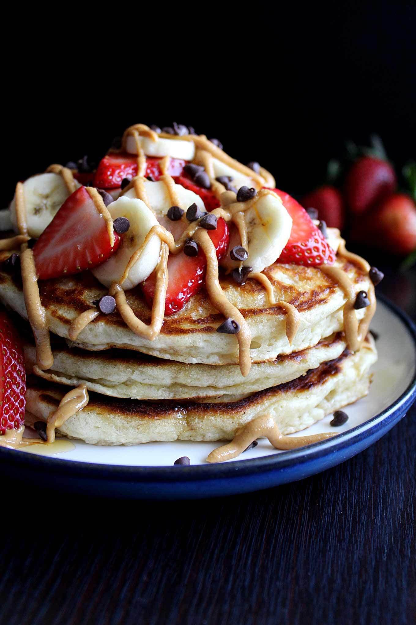 Healthy Banana Pancakes  Healthy Banana Pancakes