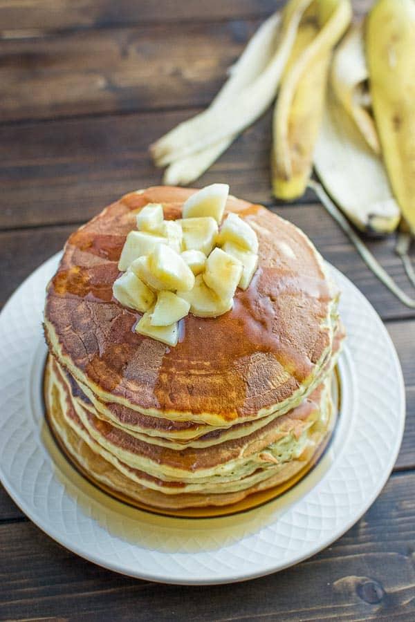 Healthy Banana Pancakes  Healthy Banana Pancakes COOKTORIA