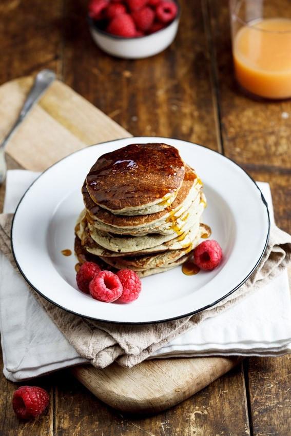 Healthy Banana Pancakes Oats  Easy and healthy Banana Oat pancakes Simply Delicious