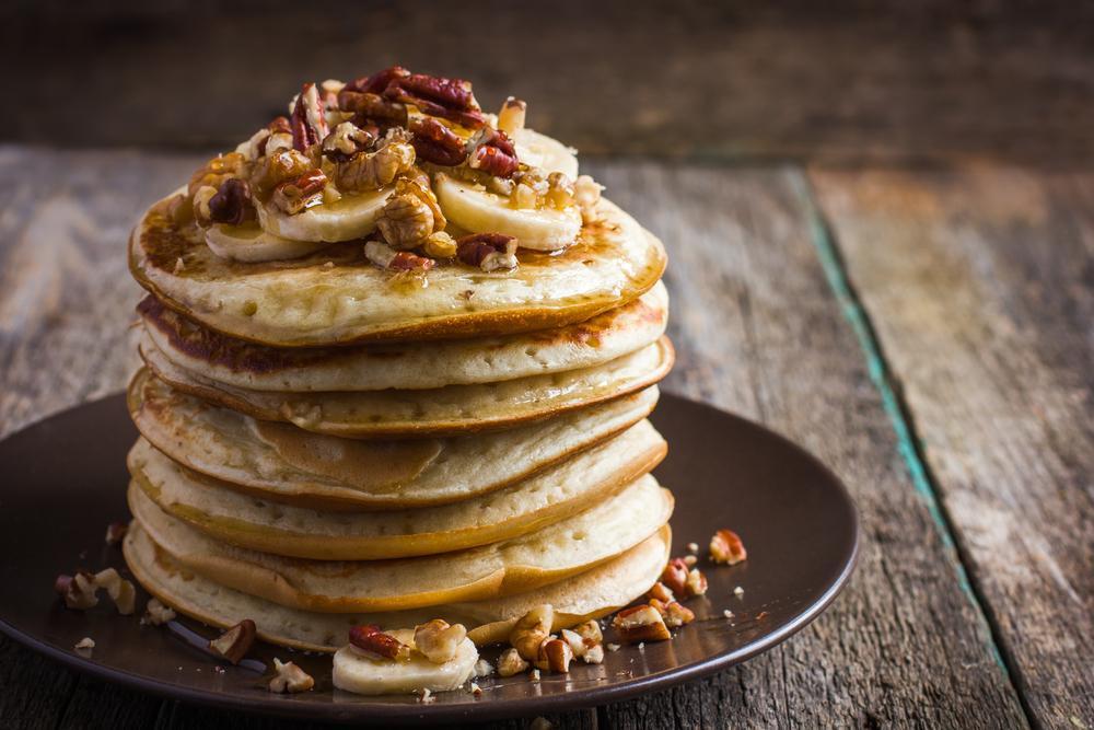 Healthy Banana Pancakes Oats  Healthy Banana Oat Pancakes Recipe – Kayla Itsines
