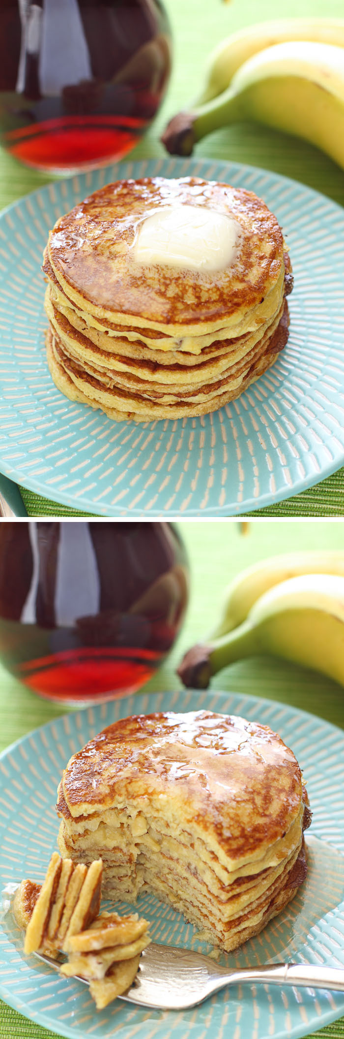 Healthy Banana Pancakes  Four Ingre nt Protein Pancakes and 16 other simple