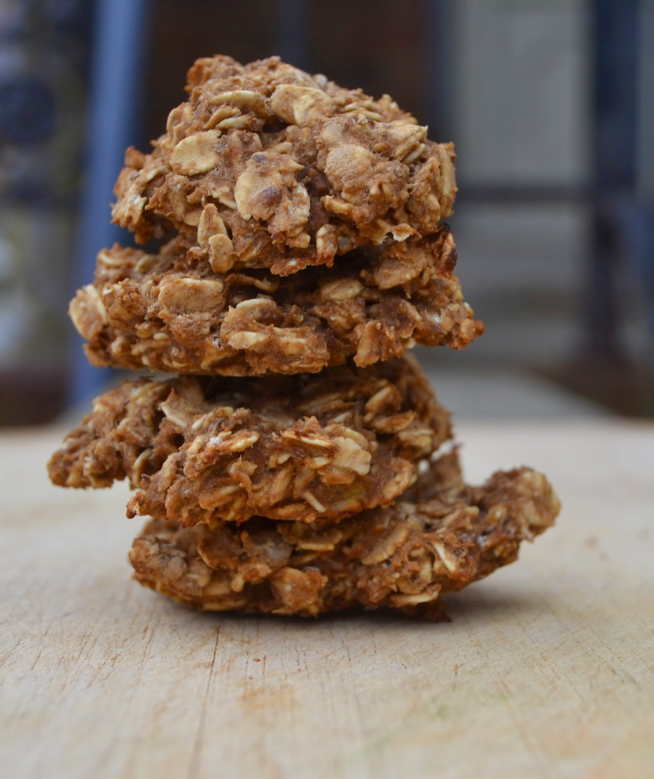 Healthy Banana Peanut Butter Cookies  Healthy Banana Chocolate Peanut Butter Cookies