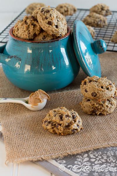 Healthy Banana Peanut Butter Cookies  20 Lightened Up Dessert Recipes Cookie Dough and Oven Mitt