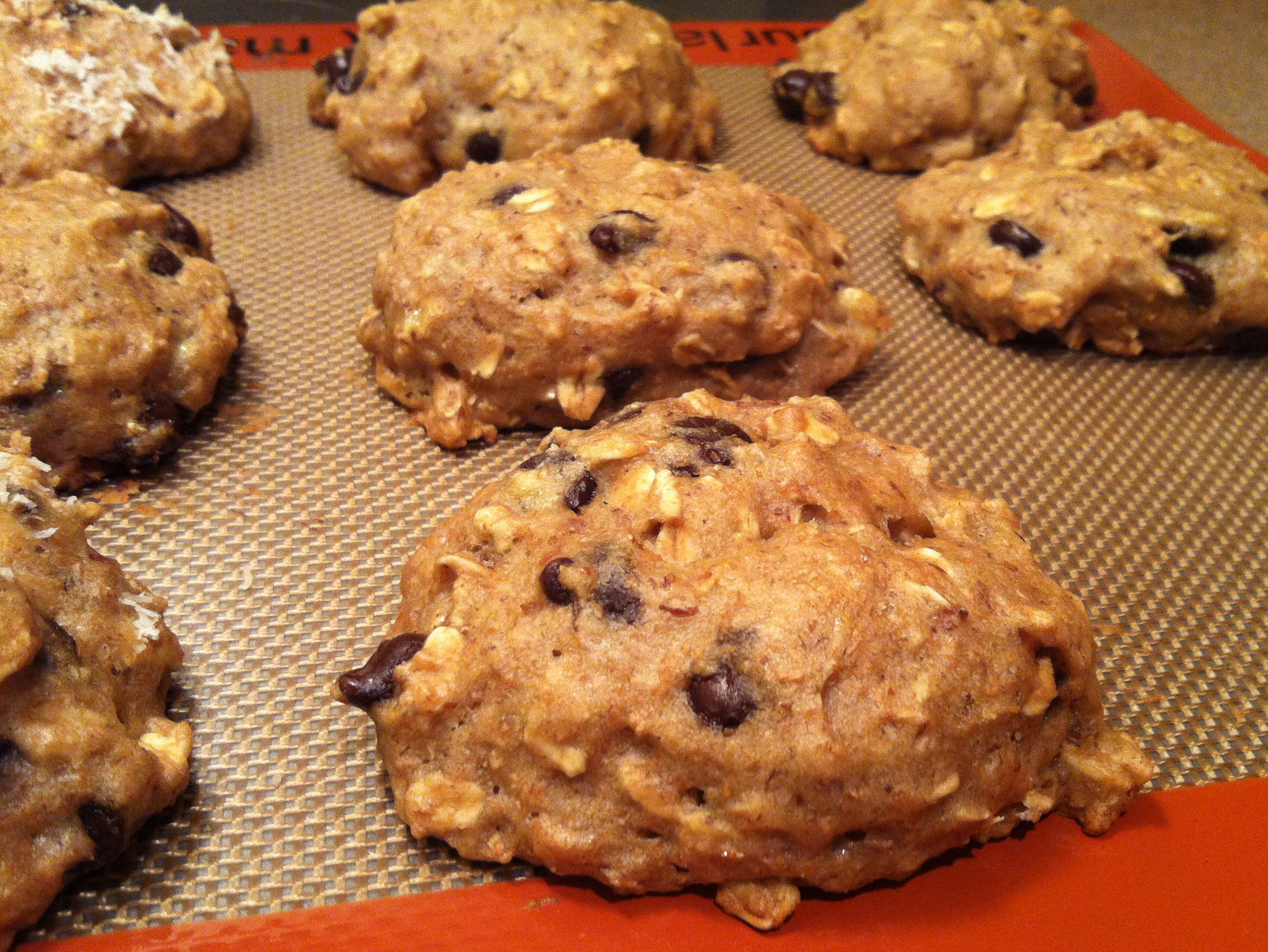 Healthy Banana Peanut Butter Cookies  Healthy peanut butter banana cookie recipes Food cookie