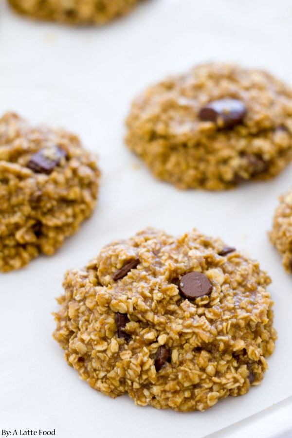 Healthy Banana Peanut Butter Cookies  Healthy Peanut Butter Banana Cookies