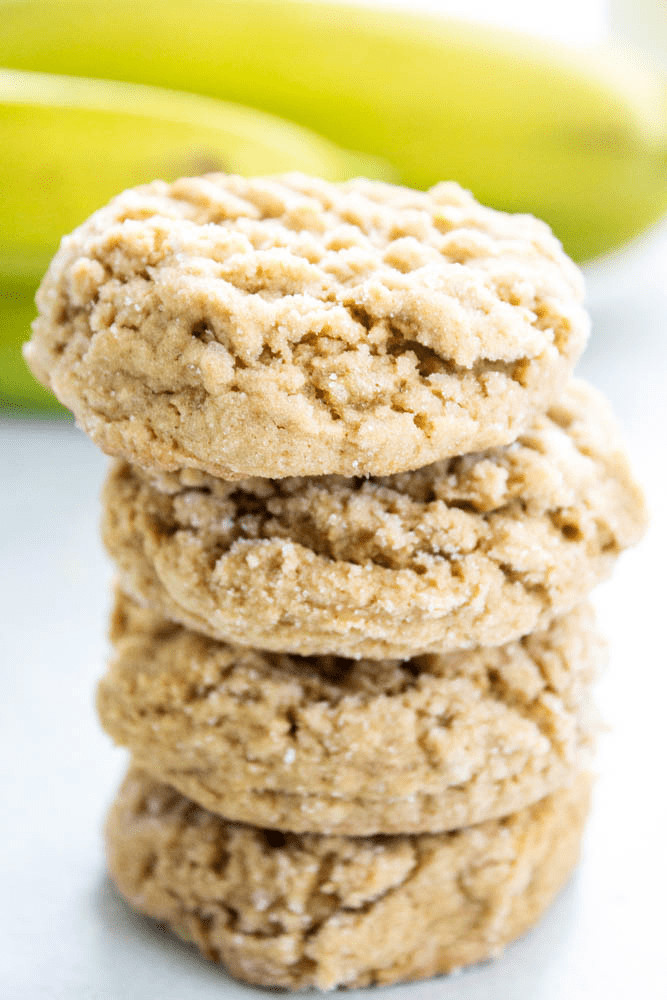 Healthy Banana Peanut Butter Cookies  HEALTHY PEANUT BUTTER BANANA COOKIES A Dash of Sanity