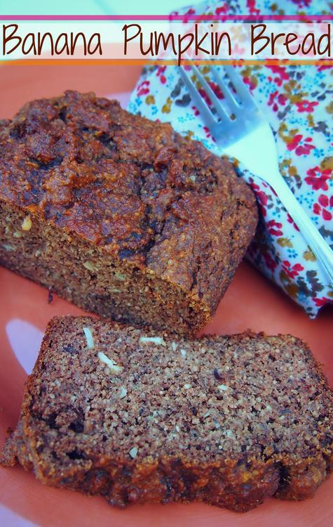 Healthy Banana Pumpkin Bread With Applesauce  Healthy Banana Pumpkin Bread – Simply Taralynn