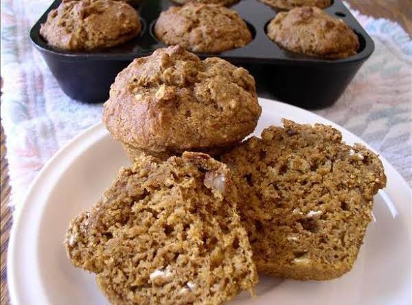Healthy Banana Pumpkin Bread With Applesauce  Healthy Pumpkin Banana Nut Muffins Recipe