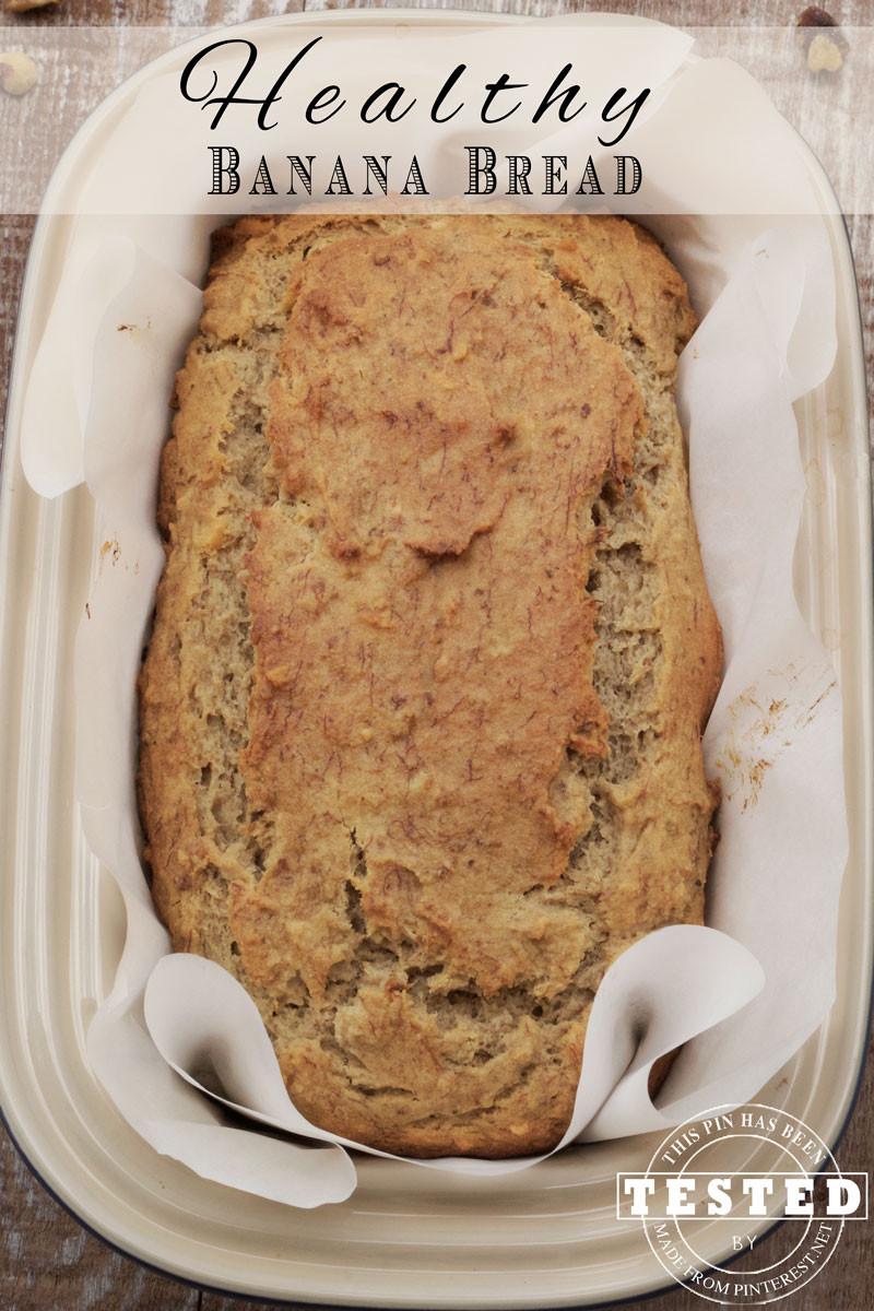 Healthy Banana Recipes  Healthy Banana Bread Recipe TGIF This Grandma is Fun