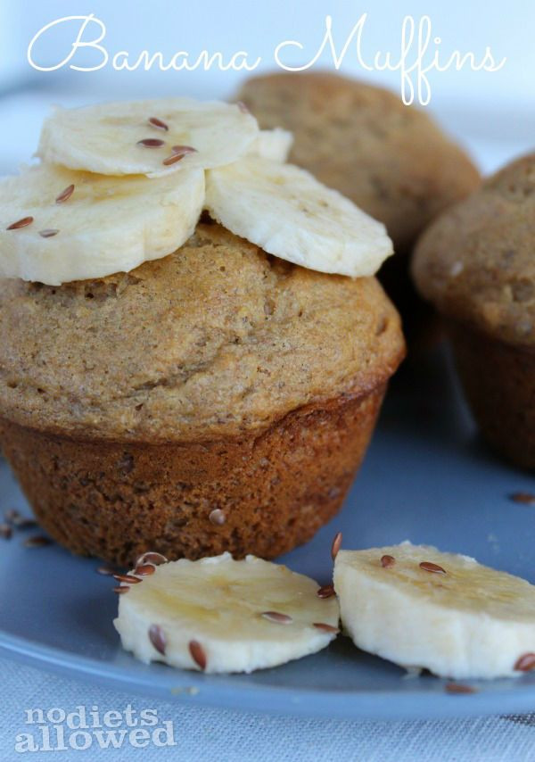 Healthy Banana Recipes For Breakfast  17 Best ideas about Healthy Banana Muffins on Pinterest
