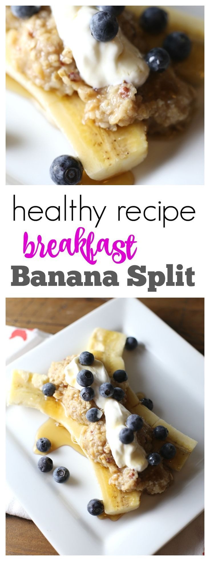 Healthy Banana Recipes For Breakfast  1119 best Fun Food Ideas for Kids images on Pinterest