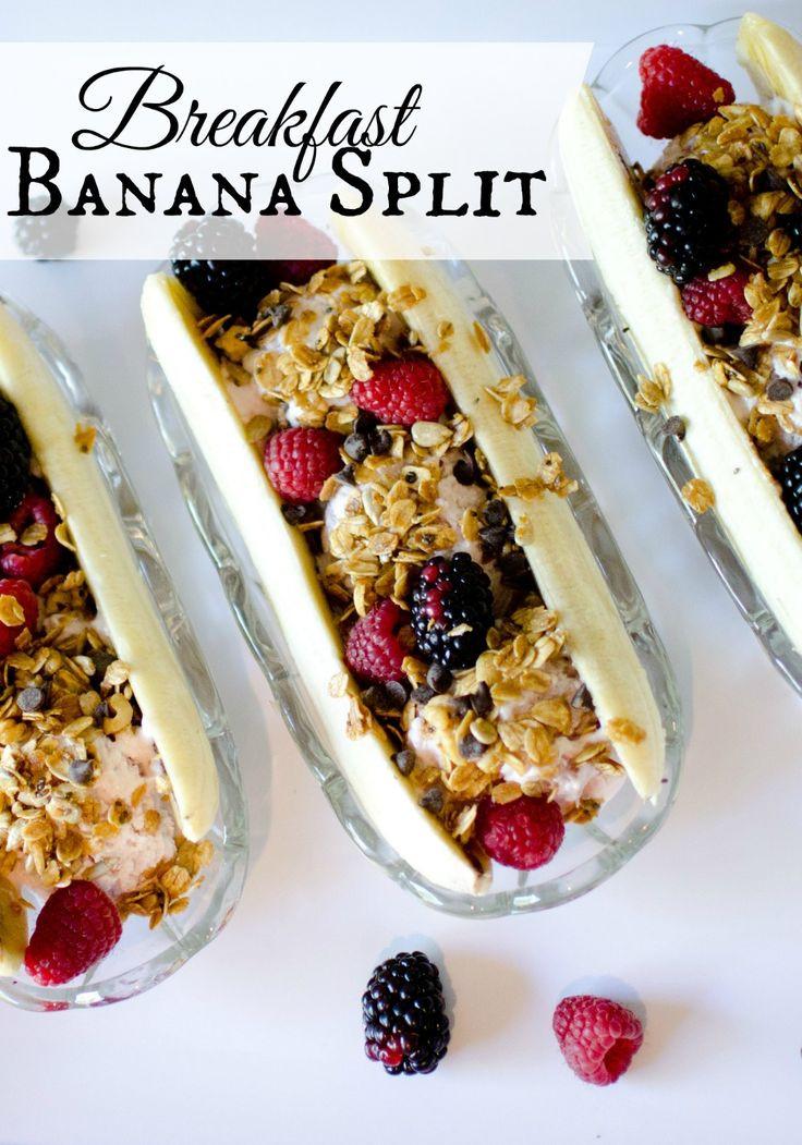 Healthy Banana Recipes For Breakfast  100 Banana breakfast recipes on Pinterest