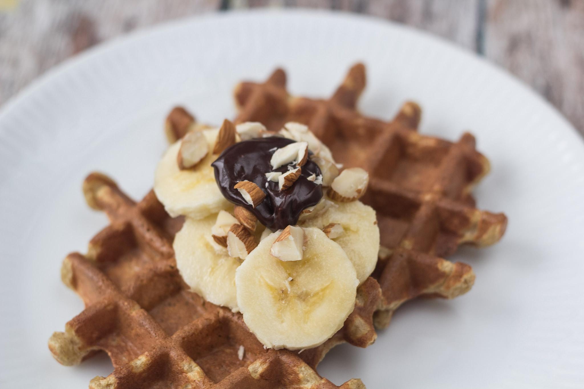Healthy Banana Waffles  Healthy Banana Waffles