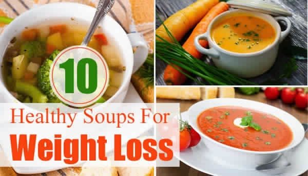 Healthy Bean Soup Recipes Weight Loss  Women s Fit Top 10 Healthy Soups For Weight Loss