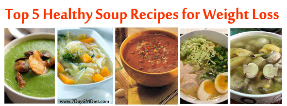 Healthy Bean Soup Recipes Weight Loss  5 Low Calorie Healthy Soup Recipes for Weight Loss